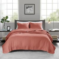 Madison Park Jaxson Reversible Coverlet Set 5-Color Option