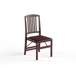Porch U0026 Den Prospect Hill Aldersey Espresso Folding Chair (Set Of ...