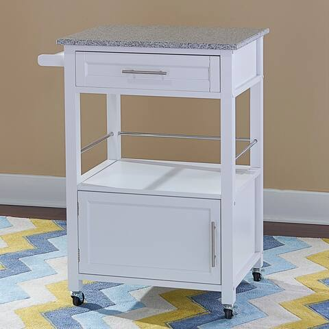 Porch & Den Bigelow Mobile Kitchen Cart - N/A