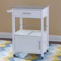 Porch & Den Prospect Hill Sanborn Mobile Kitchen Cart