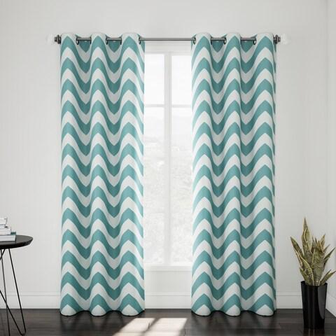 Porch & Den Carytown Dooley Curtain Panel Pair