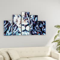 Porch & Den 'Leader of the Pack' Gallery-wrapped Canvas Print Art