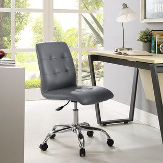 Porch & Den Silver Lake Rainbow Mid Back Office Chair