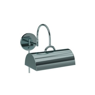 Porch & Den Joshua 1-light Chrome Swing Arm Pin-up Plug-in Wall Lamp