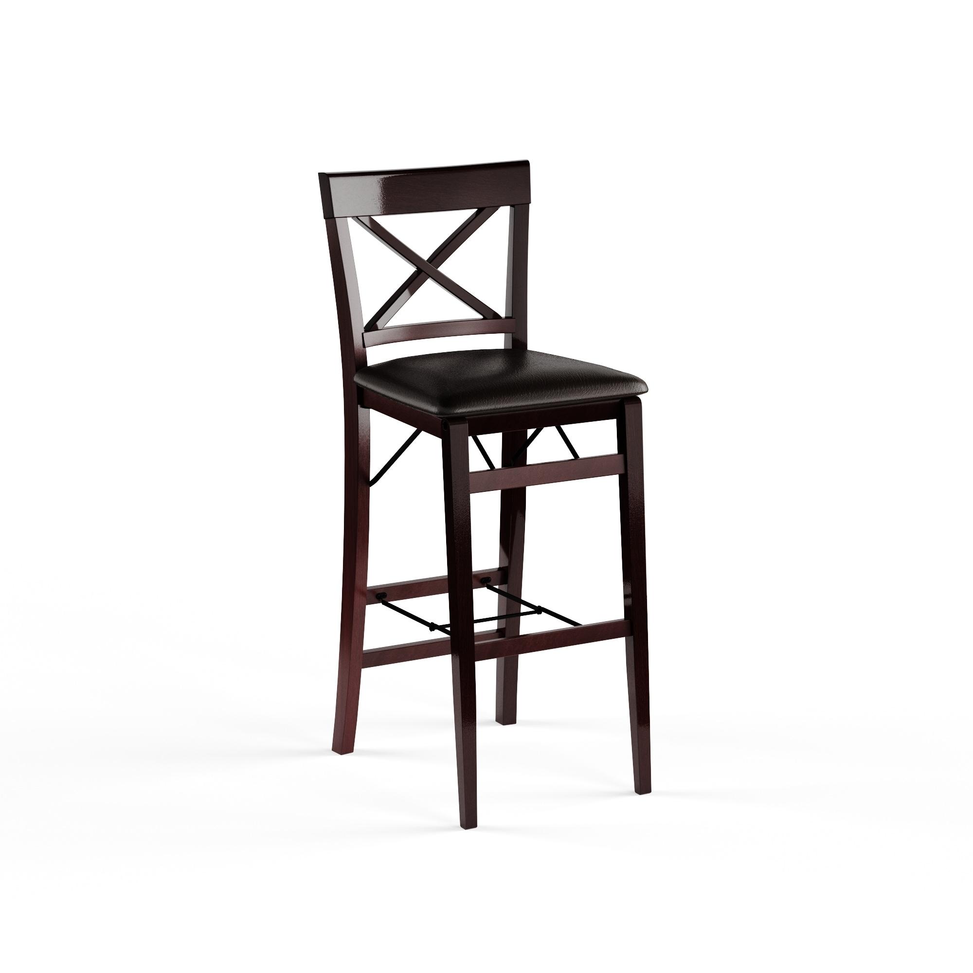 Marvelous Porch Den Aldersey Back Folding Bar Stool Ncnpc Chair Design For Home Ncnpcorg