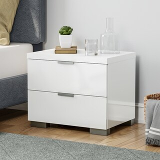 Porch & Den Jefferson High Gloss Nightstand