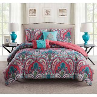 Porch & Den Ustick Reversible 5-Piece Comforter Set