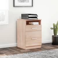 Porch & Den Bucktown Armitage 2-drawer Desk Pedestal File