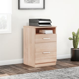 Porch & Den Bucktown Armitage 2-drawer Desk Pedestal File