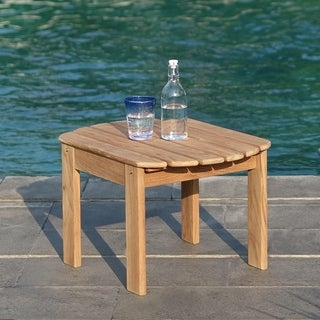 Cambridge Casual Sherwood Teak Adirondack Side Table