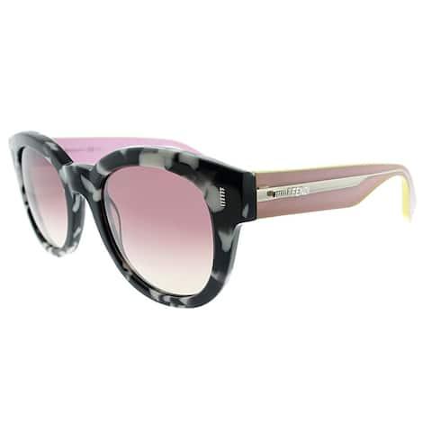 ba93f7b9f Fendi Round FF 0026 UDL Womens Marbeled Pink Frame Pink Mirror Lens  Sunglasses. Was. $125.49. $31.37 OFF. Sale $94.12
