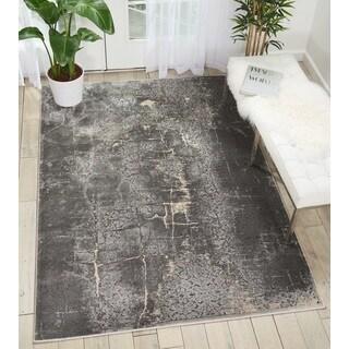 Nourison Kathy Ireland Heritage Charcoal Area Rug - 5'2 x 7'3