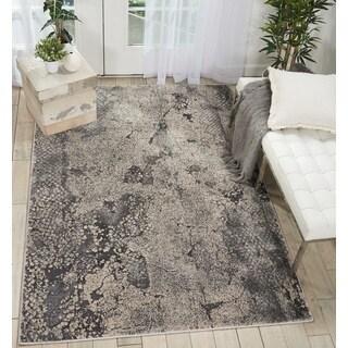 Nourison Kathy Ireland Heritage Grey Abstract Area Rug - 5'2 x 7'3