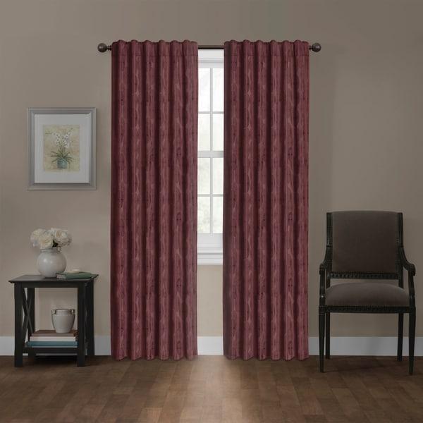 Shop Carlton Blackout Platinum Smart Curtains Window