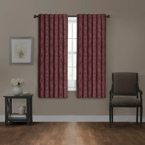 Carlton Blackout Platinum Smart Curtains Window Curtain Panel, 50 x 63 - 50 x 63 - 50 x 63