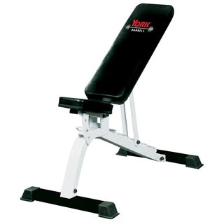 YORK FTS Flat-to-Incline Adjustable Utility Bench Press