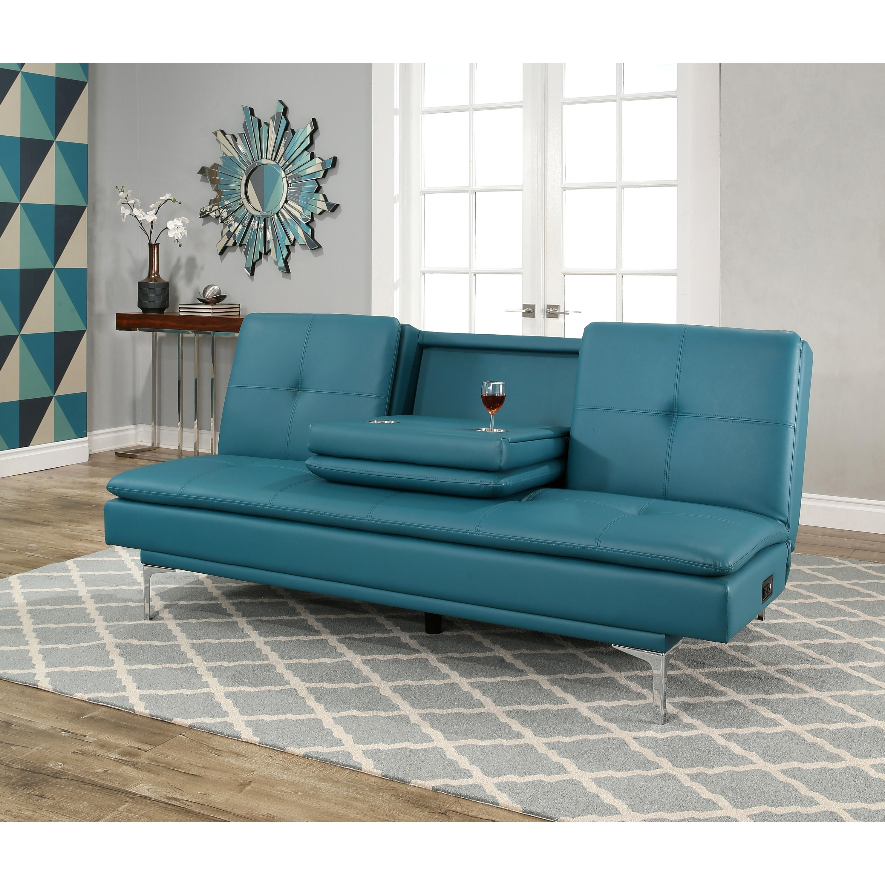 Turquoise Leather Sofa Turquoise Leather Couch Gopoint Me