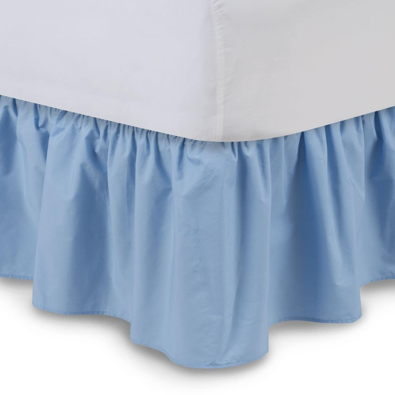 Harmony Lane Ruffled Bed Skirt Dust Ruffle (14 Inch - jew...