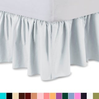 Harmony Lane Ruffled Bed Skirt Dust Ruffle