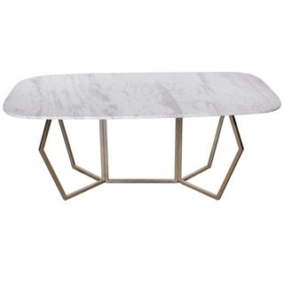 Stepney Marble Long Dining Table