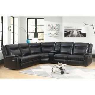 Shop Simmons Upholstery Orlando Sectional Sofa - On Sale ...