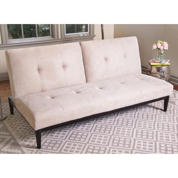 Enjoyable Shop Abbyson Regina Velvet Futon Sofa Bed On Sale Ships Home Interior And Landscaping Transignezvosmurscom