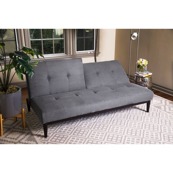 Cool Shop Abbyson Regina Velvet Futon Sofa Bed On Sale Free Onthecornerstone Fun Painted Chair Ideas Images Onthecornerstoneorg