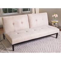 Abbyson Regina Velvet Sofa Bed