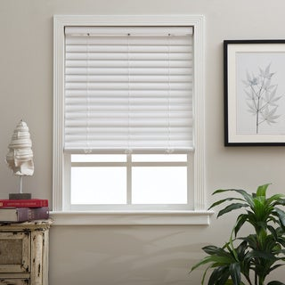 Arlo Blinds Cordless 2-inch Fauxwood Blinds (As Is Item)