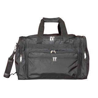 World Traveler Black 19-inch Lightweight Carry-On Duffle Bag