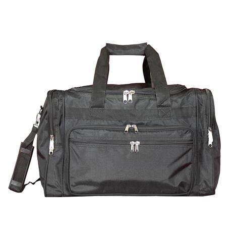 World Traveler Black 19-inch Lightweight Carry-On Duffle Bag