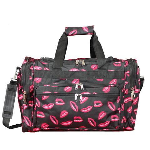 World Traveler Hot Lips 19-inch Lightweight Carry-On Duffle Bag