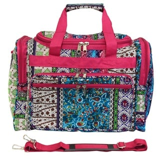 World Traveler Bohemian 19-inch Lightweight Carry-On Duffle Bag