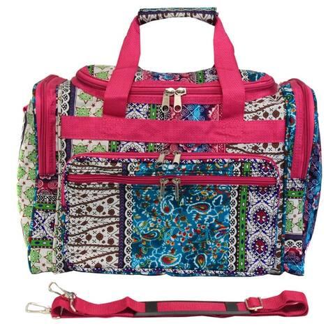 World Traveler Bohemian 19-inch Lightweight Carry-On Duffle Bag