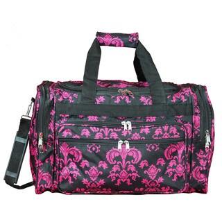 World Traveler Damask 19-inch Lightweight Carry-On Duffle Bag