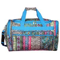 World Traveler Bohemian 22-inch Lightweight Duffle Bag
