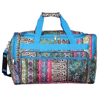 World Traveler Bohemian 22-inch Lightweight Duffle Bag
