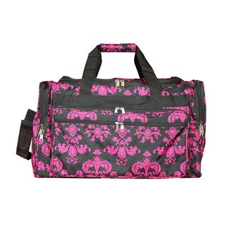 World Traveler Damask 22-inch Lightweight Duffle Bag