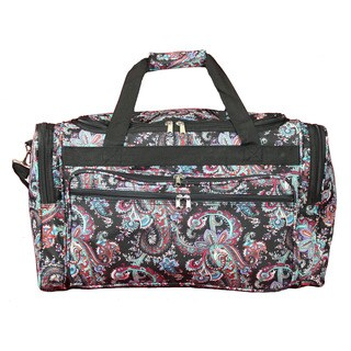 World Traveler Paisley 22-inch Lightweight Duffle Bag