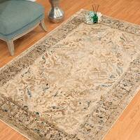 Westfield Home Cairo Abril Taupe Distressed Area Rug (5'3 x 7'2)