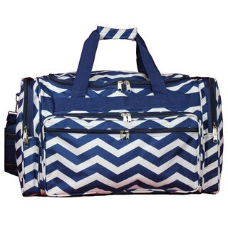 World Traveler Chevron 22-inch Lightweight Duffle Bag (2 options available)