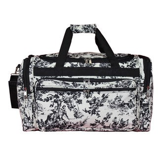World Traveler Countryside White 22-inch Lightweight Duffle Bag