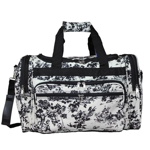 World Traveler Countryside White 19-inch Lightweight Carry-On Duffle Bag