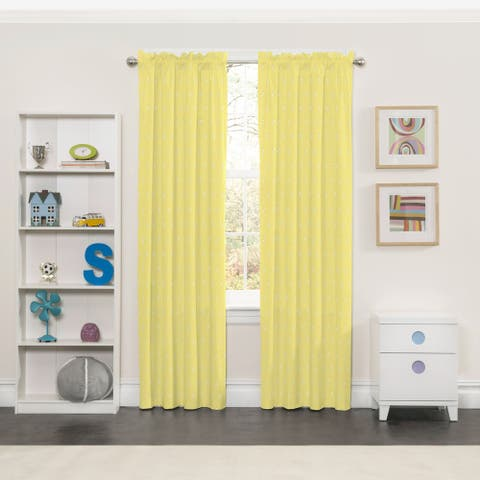 Eclipse Kids Tree Tops Blackout Window Curtains