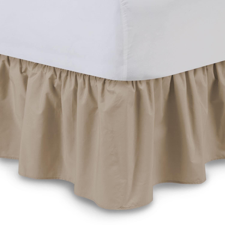 Rainbow Harmony Lane Twin Size Ruffled Bed Skirt Dust Ruf...