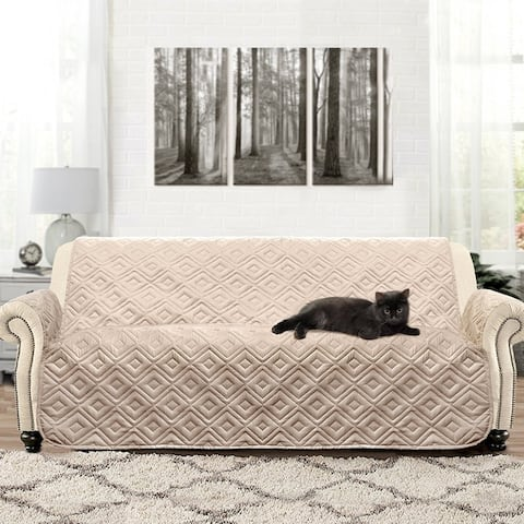 DriftAway Water-Resistant Quilted Sofa Furniture Protector