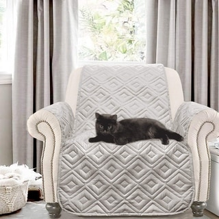 Link to DriftAway Water-Resistant Quilted Chair Protector Similar Items in Slipcovers & Furniture Covers