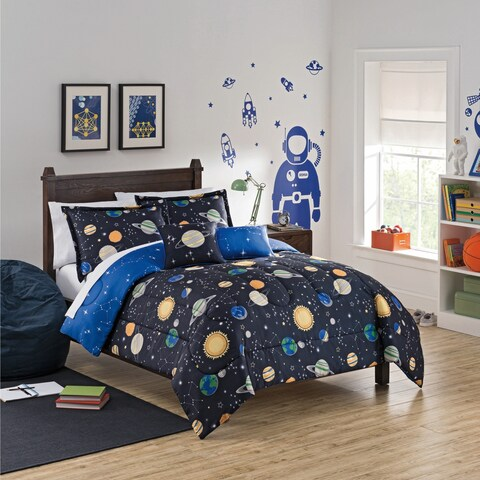 Waverly Kids Space Adventure Reversible Bedding Collection