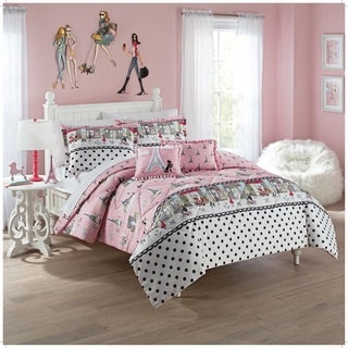 Waverly Kids Ooh La La Reversible Bedding Collection (2 options available)