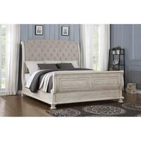Barton Creek Queen Upholstered Sleigh Bed
